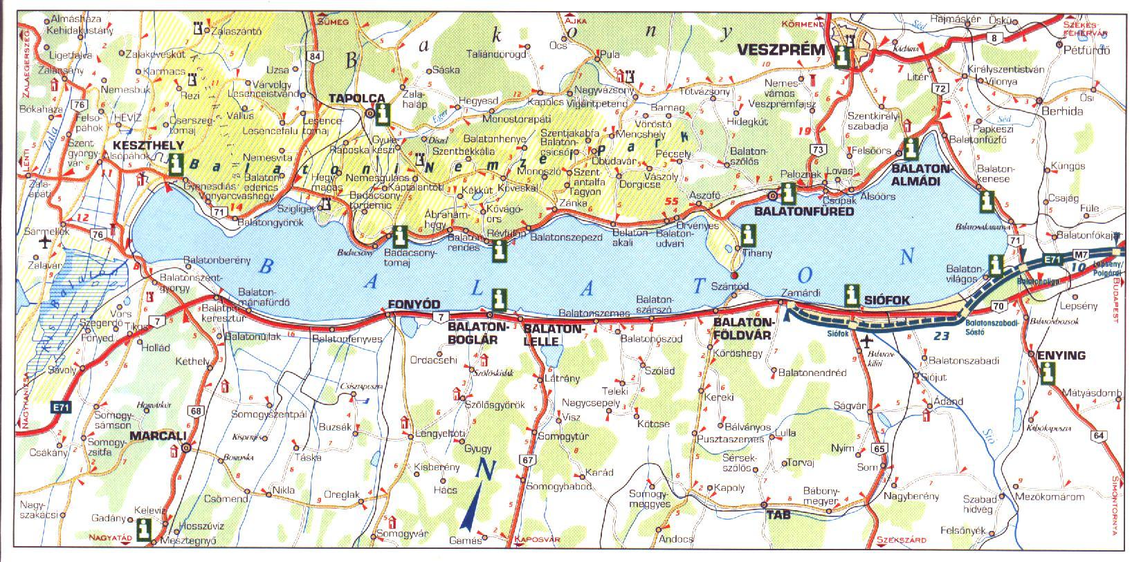 balaton térkép vonyarcvashegy Vonyarcvashegy weboldala balaton térkép vonyarcvashegy